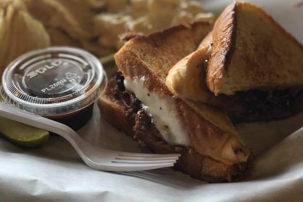Jordan Springs Market, Brisket Grilled Cheese, Stephenson, Va